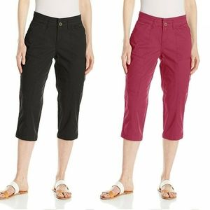 NEW Lee Women's Brenna Relaxed Fit Capri 4, 10